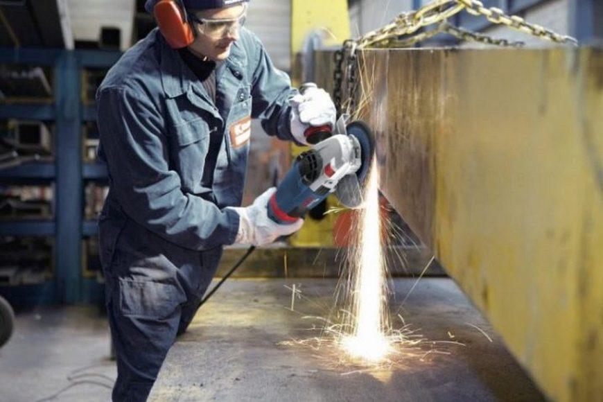 шлифовка металла болгаркой