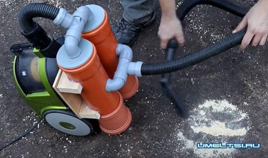Готовый самодельный циклон для пылесоса в сборе