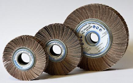 лепестковые диски для шлифовки на болгарку