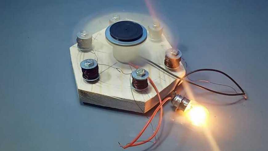 электрогенератор на магнитах
