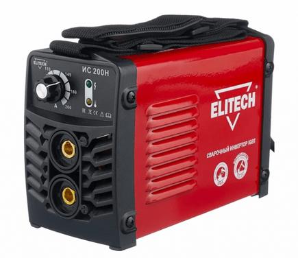 сварочный аппарат для дома ELITECH ИС 200Н