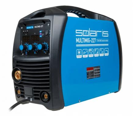 сварочный аппарат для дома и дачи Solaris MULTIMIG-227