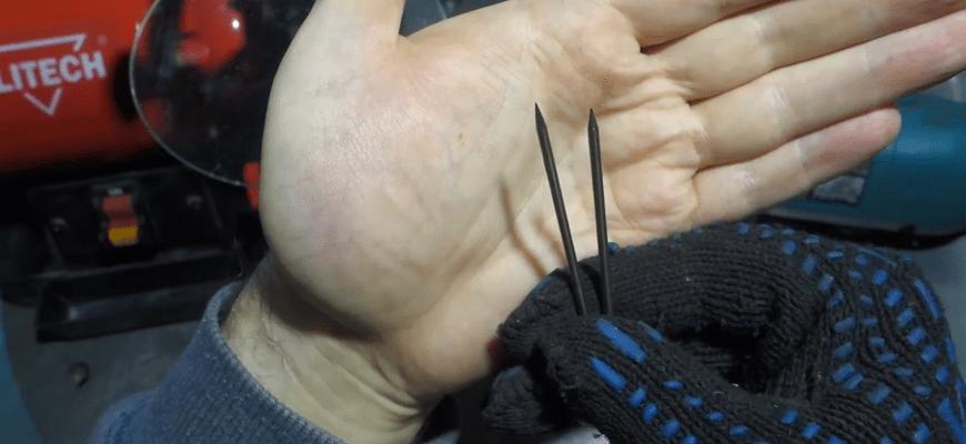 заточка электрода